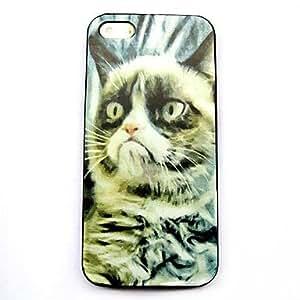 PEACH- Grumpy Cat Pattern Hard Case for iPhone 4/4S
