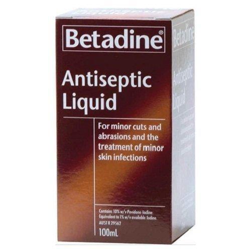 Betadine Antiseptic Liquid 100mL by Default