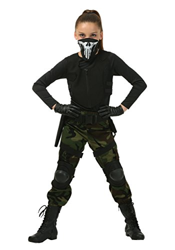 Soldier Girl Costume (Girl's Fighting Soldier Costume Small (6))