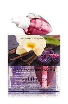Bath & Body Works Wallflowers Home Fragrance Refill Bulbs Black Raspberry Vanilla 2 Pack