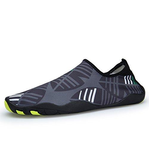 for Quick Diving Denater Drainage Aqua Water Holes Socks Barefoot gray Surf Snorkeling 16 Beach Shoes Dry S Swim Pool ncIpqI8Pwr