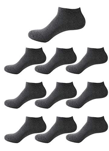 De Lot Coton Sport 6 Foncé Paires Socquettes Et 10 Ou Femmes E Chaussette Courtes Likarulla Chaussettes Hommes gris q5OPWd1w