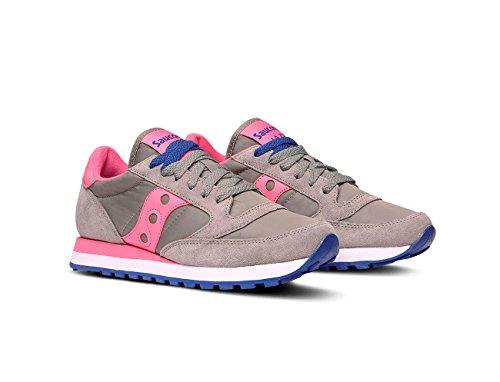 Nylon Saucony Jazz Rosa e in Sneakers Camoscio AwTp6q