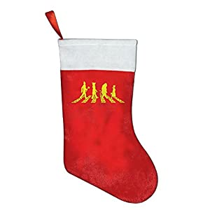 christmas holiday stockings xmas tree decorations yellow color abbey brick road santa stocking hanging socks party decorations gift christmas stockings