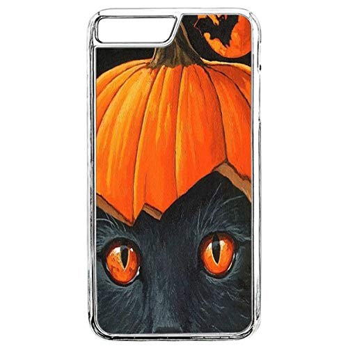 Protective Case for iPhone 7 Plus Snap On Printing Protective Skin Cover Halloween Slim Fit Shell Hard Plastic Phone Case for iPhone 8 Plus & iPhone 7 Plus ()