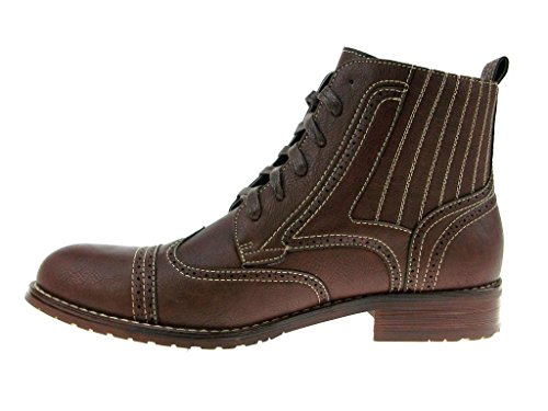 Mens 806011 Ankle Ferro Combat Dk Style High Casual Aldo Brown Boots New Dress awgg6qE4
