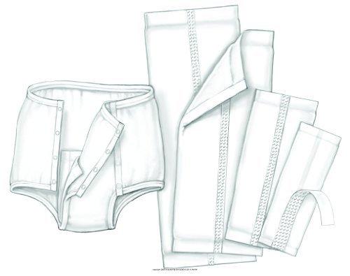 HandiCare Garment Liner, Handicare Lnr Lg 10X24 in, (1 CASE, 144 EACH)