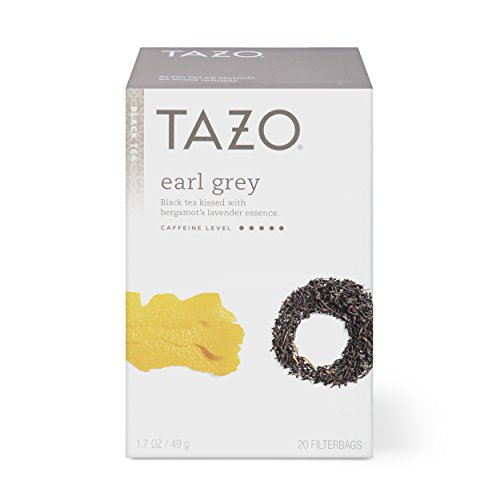 - Tazo Earl Grey Black Tea Filterbags, 20 Count (pack of 6)