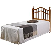 Donco Kids 710-TH Double Rail Headboard, Twin, Honey