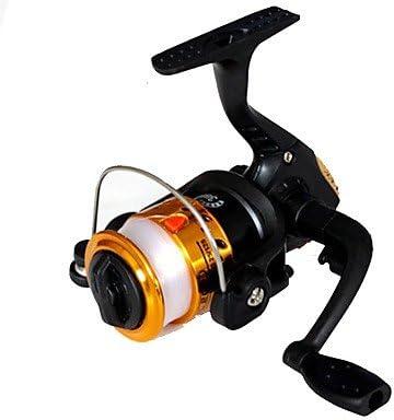 Carrete de TY Pesca Pesca Spinning 2.6:1 1 Rodamientos de Bolas ...