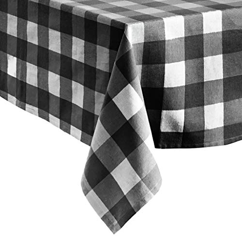 Elrene Home Fashions Farmhouse Living Buffalo Check Tablecloth, 60