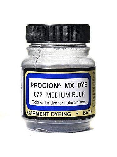 Jacquard Procion MX Fiber Reactive Dye medium blue 072 2/3 oz. [PACK OF 3 ]