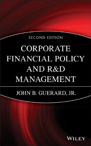 Corporate Financial Policy and R&D Management (Wiley Finance) PDF