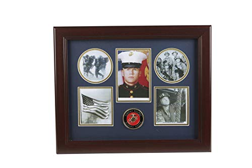 Marine Corps Medallion Picture Collage Frame