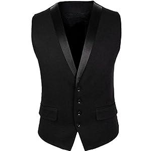 Cenizas Casual Tuxedo Waistcoat for Men Slim fit