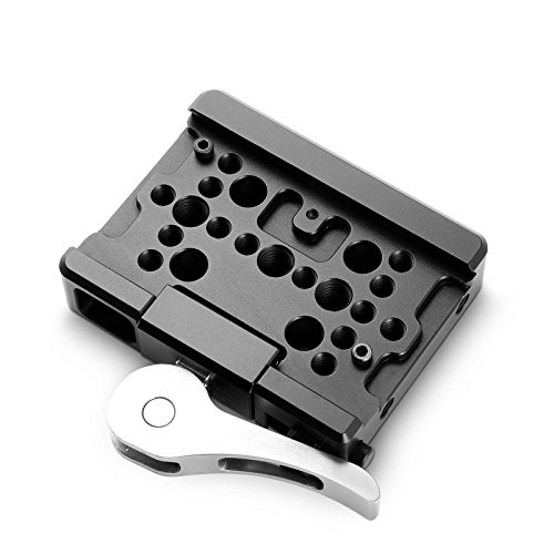 SmallRig Quick Release QR Plate Drop-In Dovetail Clamp for Manfrotto 501PL Tripod - 2006 (Lever Base)