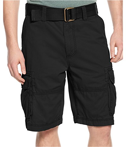 American Rag CIE Mens 44B Big And Tall Cargo Shorts Black 44 from AMERICAN RAG CIE