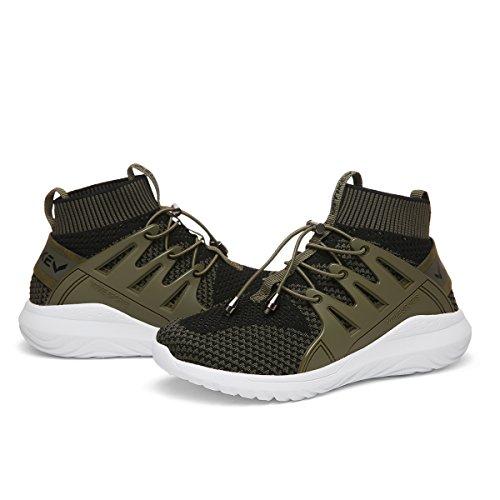 Donna Da verde Fitness Ragazze Ginnastica Sneakers Scarpe Mesh 2 Sport Respirabile Ragazzi xwxPrq