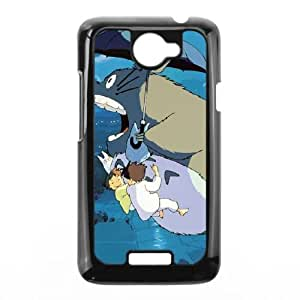 My Neighbour Totoro HTC One X Cell Phone Case Black Special gift FG819411