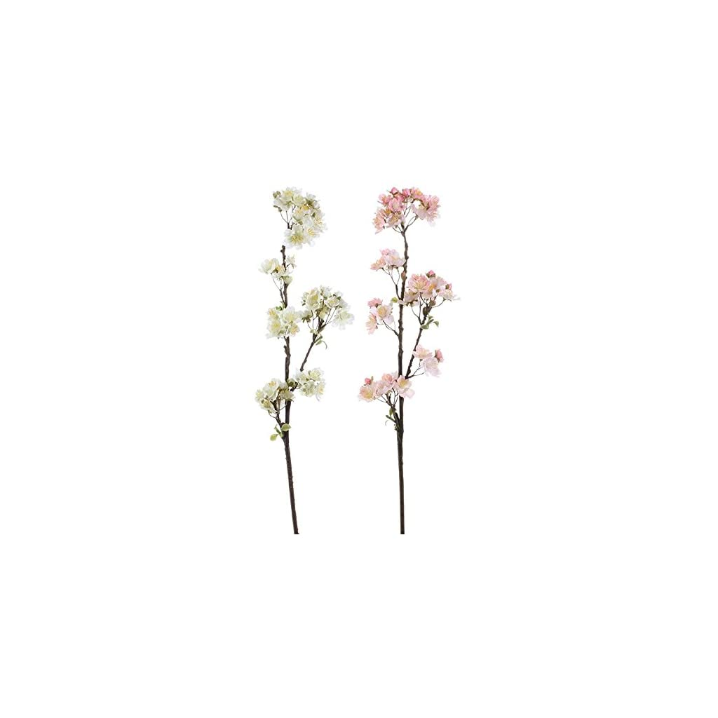 RAZ Imports 29″ Cherry Blossom Spray (Set of Two)