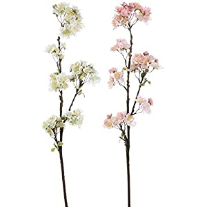 "RAZ Imports 29"" Cherry Blossom Spray (Set of Two) 1"
