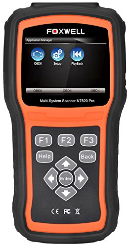 FOXWELL NT520 PRO for BMW 7 SERIES F01 OBD2 Diagnostic Reader Erase Error Code Scanner Tester SRS ABS DPF EPB Airbag Oil Service