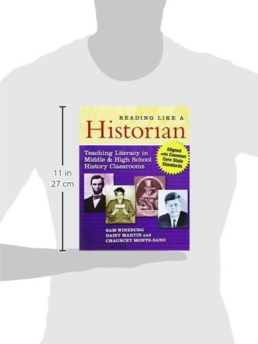 080775403X 9780807754030 Reading Like a Historian Teaching Literacy in Middle and High School History Classrooms―Aligned with Common Core State Standards 2nd Edition-Paperback