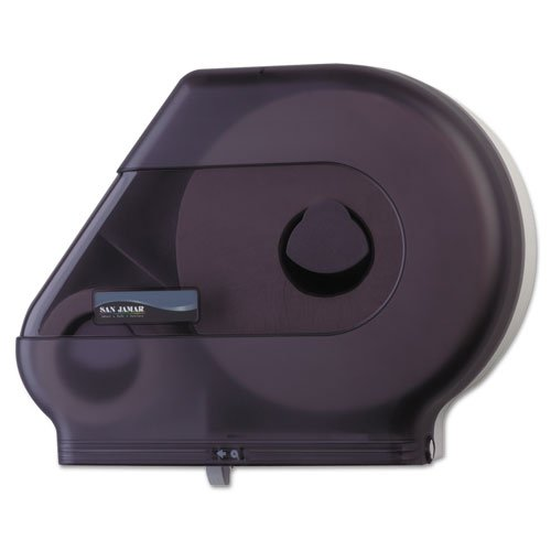 SANR6500TBK - Quantum Jumbo Vision Roll Dispenser With Stub Roll Compartment -