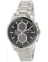 Seiko Mens SSC087 Analog Japanese-Quartz Silver Watch