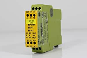 774360 Pilz safety relay for two-hand monitoring P1HZ X1 24VDC 2n/o 4046548011470
