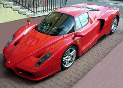 Enzo Ferrari 24X36 Banner Poster RARE #RWF342387 ()
