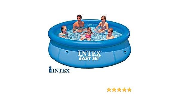 Intex EASY 28120 - Piscina de suelo redonda (diámetro 3, 05 m x 0, 76 m): Amazon.es: Jardín