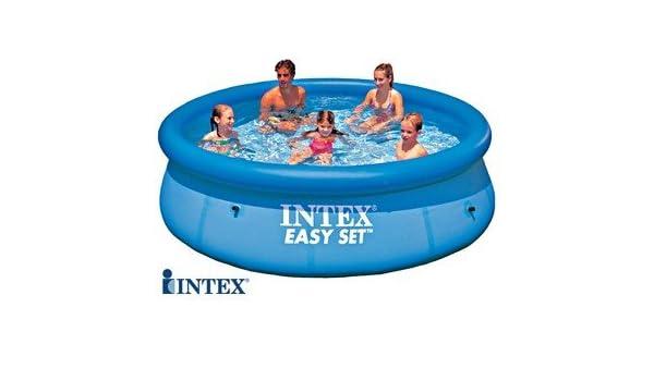Intex EASY 28120 - Piscina de suelo redonda (diámetro 3, 05 m x 0 ...
