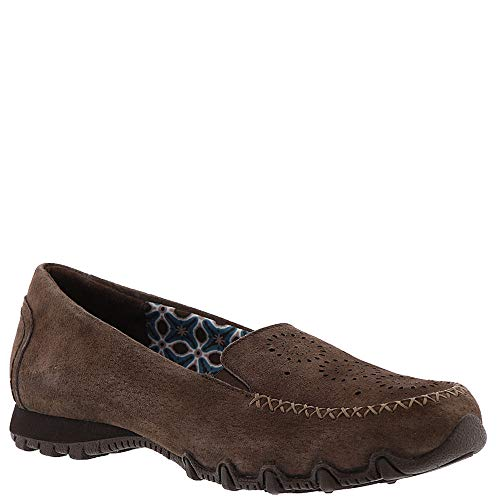 Bikers Women's Skechers Relaxed Fit Chocolate Loafer Traffic w8SPqzUS