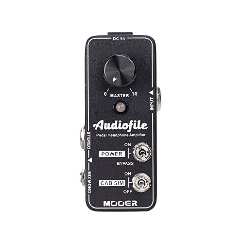 MOOER Audiofile Pedal Headphone Amplifier Analog by MOOER