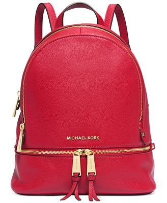 46aa4c1c555f Amazon.com: Michael Kors Fuschia Backpack 30s5sezb1L: Shoes