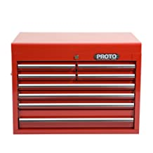 Stanley J442719-8RD Proto 440SS 27-Inch Top Chest, 8 Drawer, Red