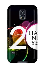 First-class Case Cover For Galaxy S5 Dual Protection Cover Happy New 2011 Year