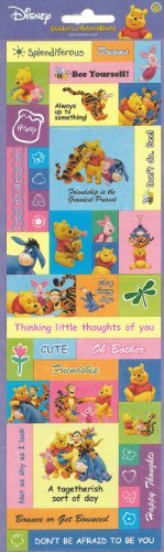 Disney Winnie the Pooh and Friends Cardstock Scrapbook (Pooh Scrapbook)