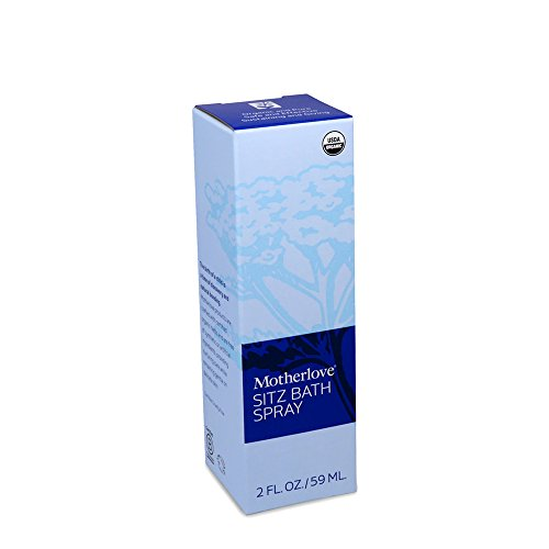 Motherlove Organic Sitz Bath Soothing Herbal Spray for Postpartum Care, 2 oz Bottle by Motherlove (Image #1)