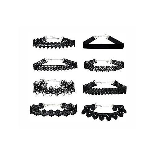 MJW&XL Femme Forme de Feuille Forme Classique Mode Collier court /Ras-du-cou Perle imitée Tissu Alliage Collier court /Ras-du-cou Quotidien , one size