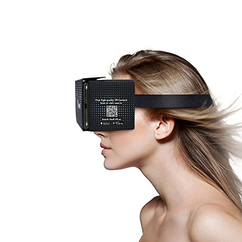 36fe4ae427a2 VeeR VR 3D Virtual Reality Headsets for VR 360 Videos   Movies Compatible  with Android