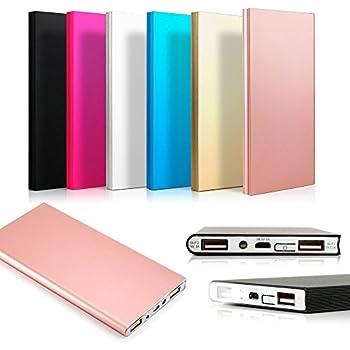 Amazon.com: Cargador de batería externa ultradelgado de ...