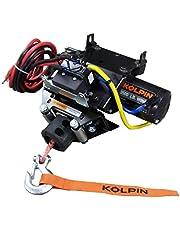 Kolpin 26-1030 Honda ATV Quick-Mount Winch 3500 LB Synthetic Rope