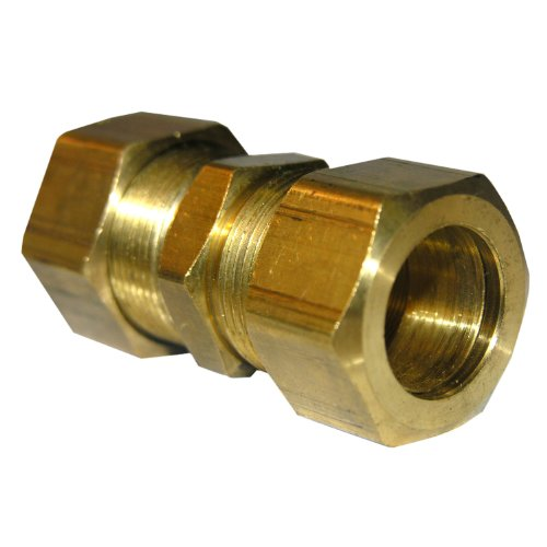 LASCO 17-6269 3/4-Inch Outside Diameter Compression Brass Union