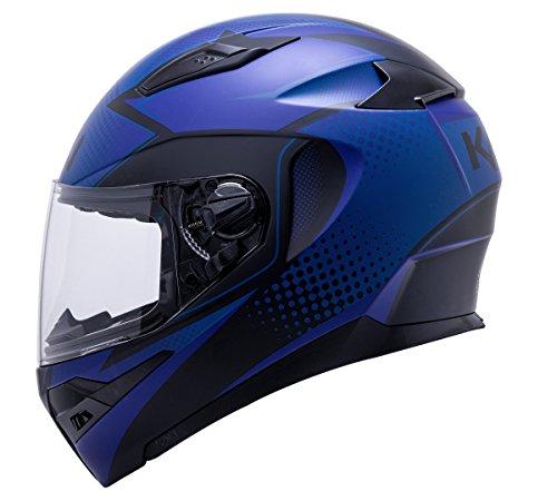 - Kali Apex Frequency Matte Blue Full Face Motorcycle Helmet S M L XL 2XL (M)