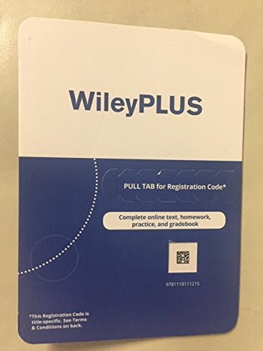 Wiley Plus Complete online text, homework, practice, and gradebook Access Code (Wiley Physics Access)