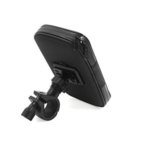 sourcingmap® Universal Fahrrad Motorrad Halterung wasserdichte Handy Case Lenkertasche