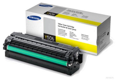 Original Samsung© CLT-Y506L Yellow Toner Cartridge - 3,500 Yield