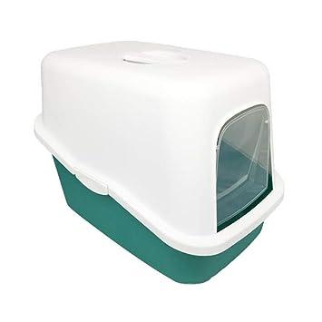 Jlxl Gato Camada Bandeja Plegable Bandeja para Gatos Cuenca Completamente para Adjunto Baño Desodorante Anti Salpicar Arena Maceta Suministros (Color : C): ...